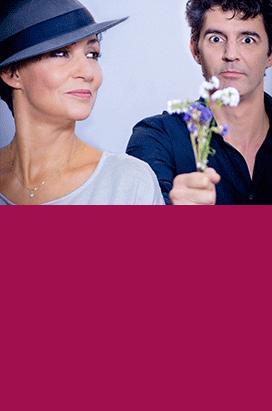 Sandra Kreisler und Roger Stein